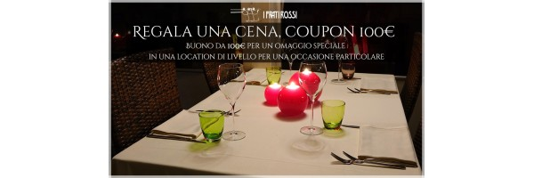 Regala una cena, coupon 100€