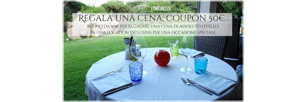 Regala una cena, coupon 50€